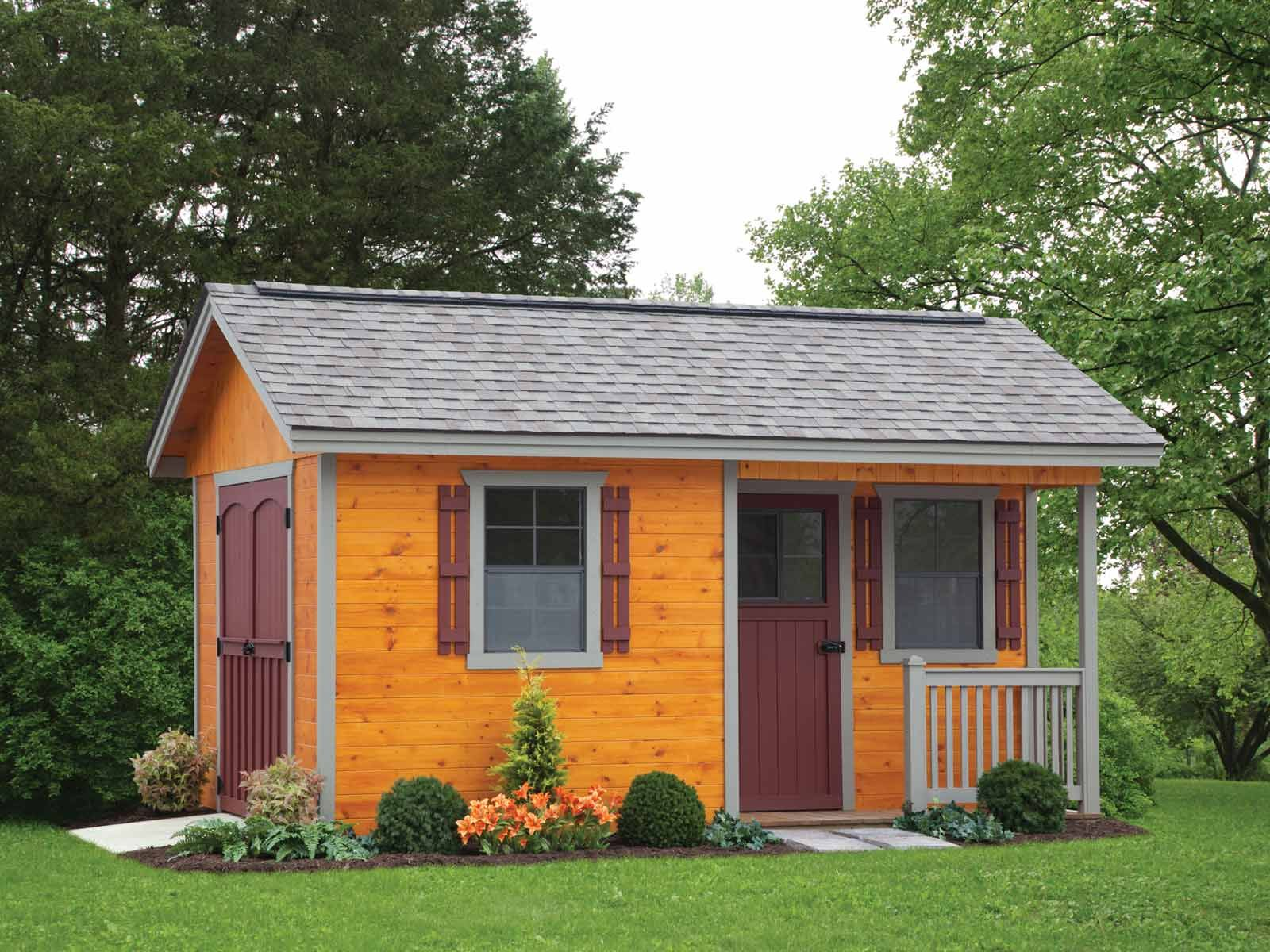 Cottage Style Storage Shed Pricing Options List Coole Schuppen