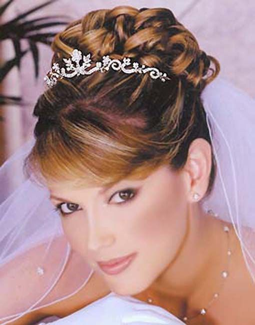 Gallery Wedding Hairstyles With Tiara