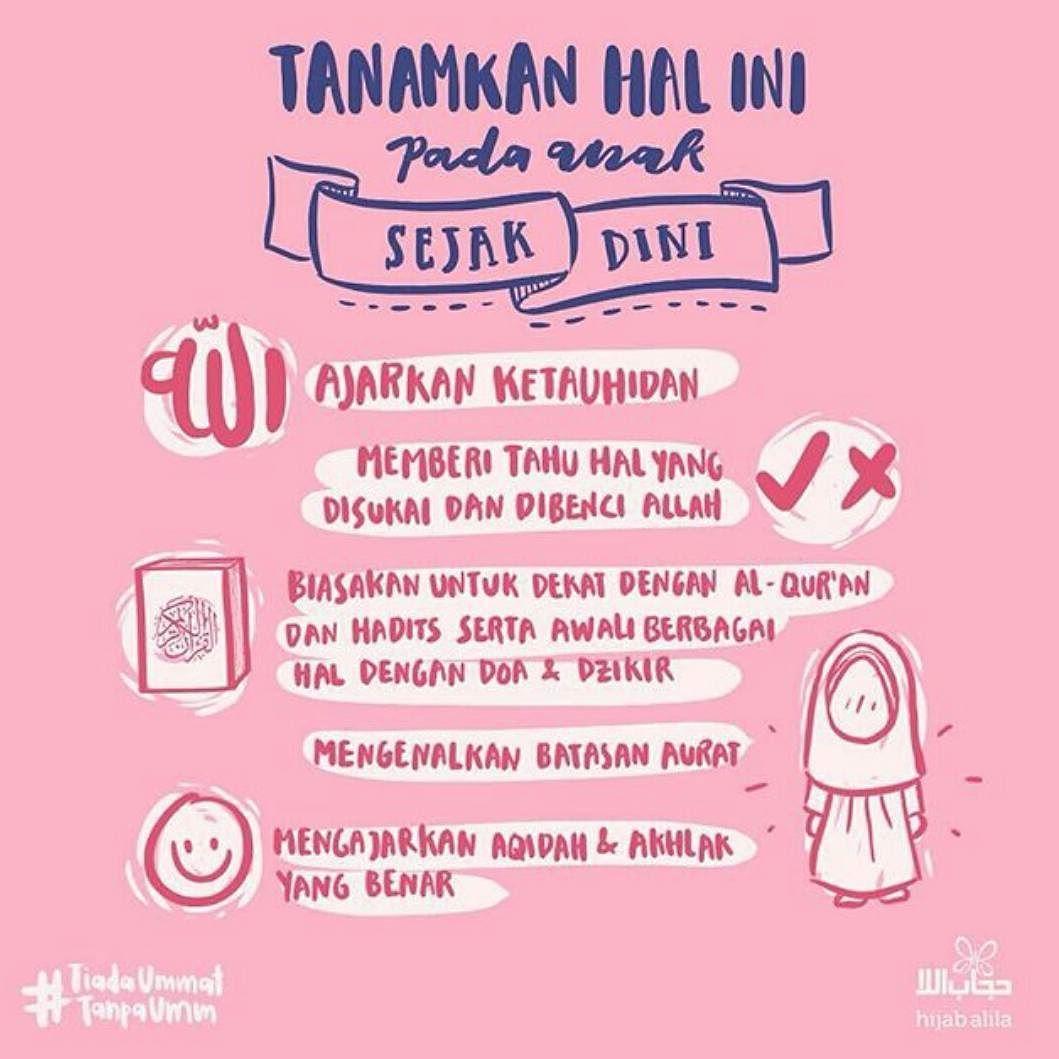 Hijabalila Assalamu Alaykum Tips Nih Untuk Mendidik Anak Mita Nanti Ajarkan Ketahuidan Dear Lovalila Yang Pert Pendidikan Belajar Psikologi Perkembangan