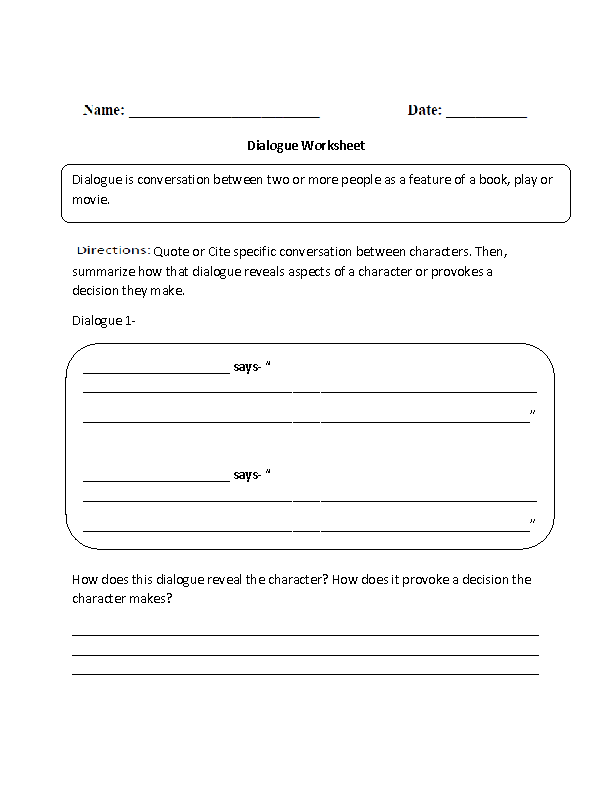 Theme Worksheet Identifying and Development Part 1 Beginner – Theme Worksheet