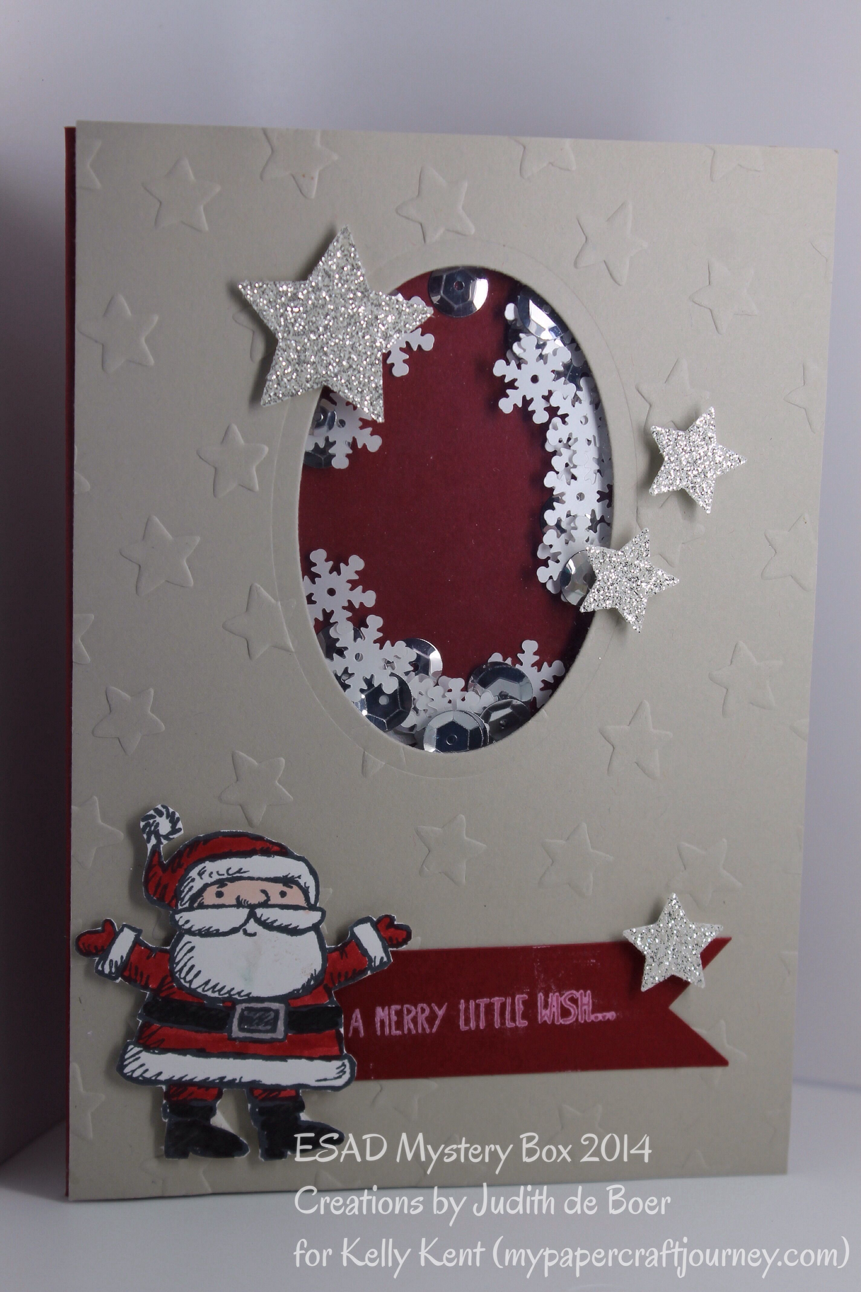 Su get your santa on christmas cards paper crafts