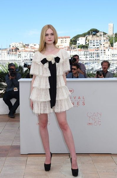 Elle Fanning at the 2016 Cannes Film Festival - All The Times Celebrities Stunned in Chanel - Photos