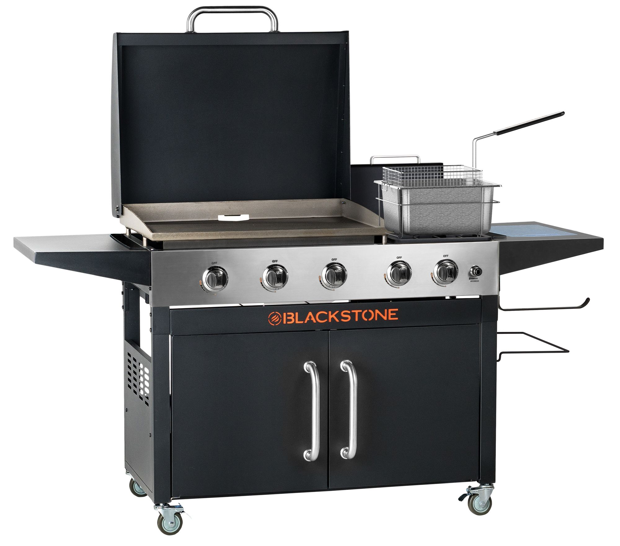 Blackstone Range Top Combo 28 Griddle With Bonus Fryer Walmart Com In 2020 Griddle Cooking Grilling Outdoor Kitchen Appliances