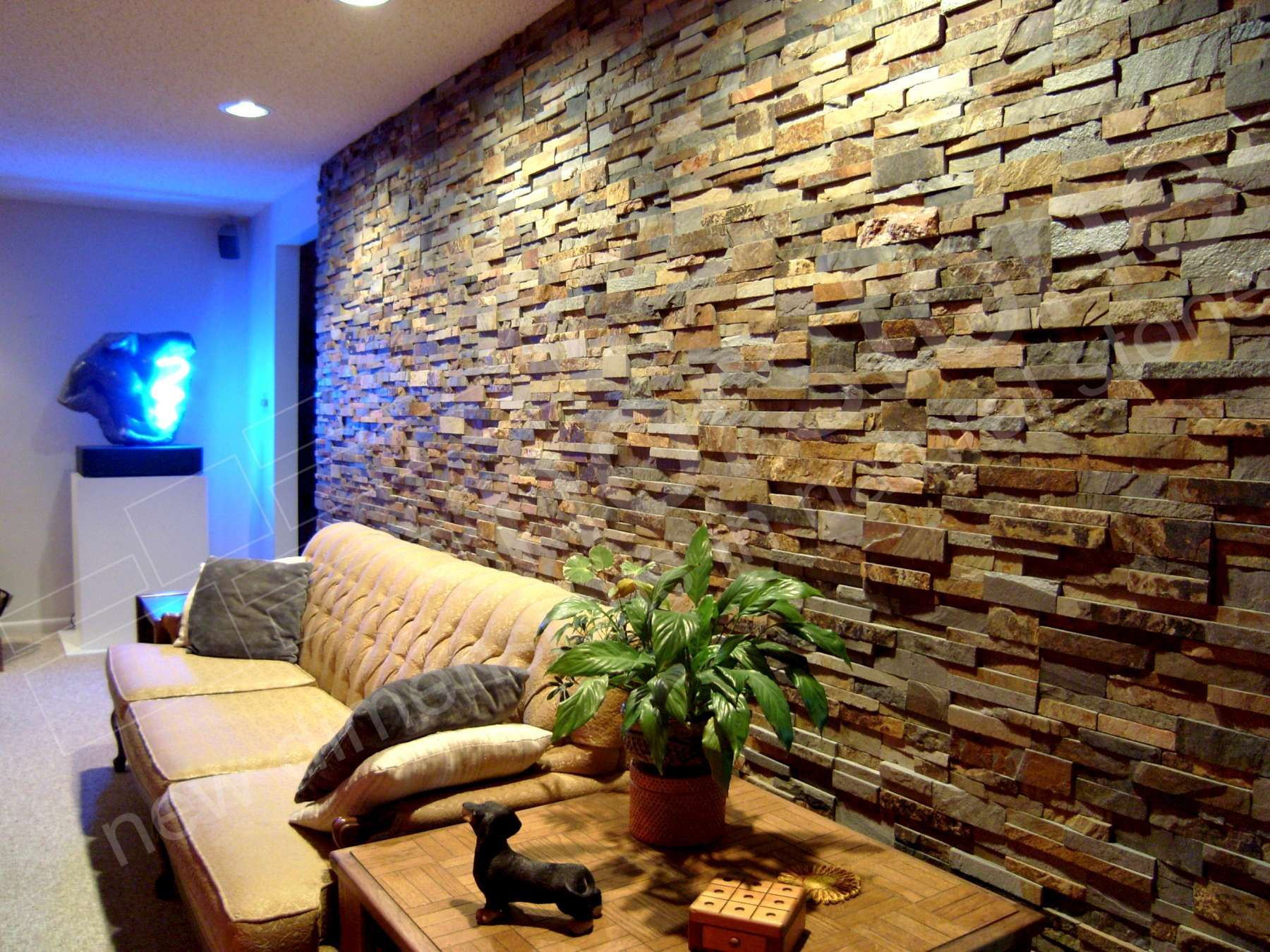 Remarkably Simple And Cost Effective Norstone Natural Stone Wall
