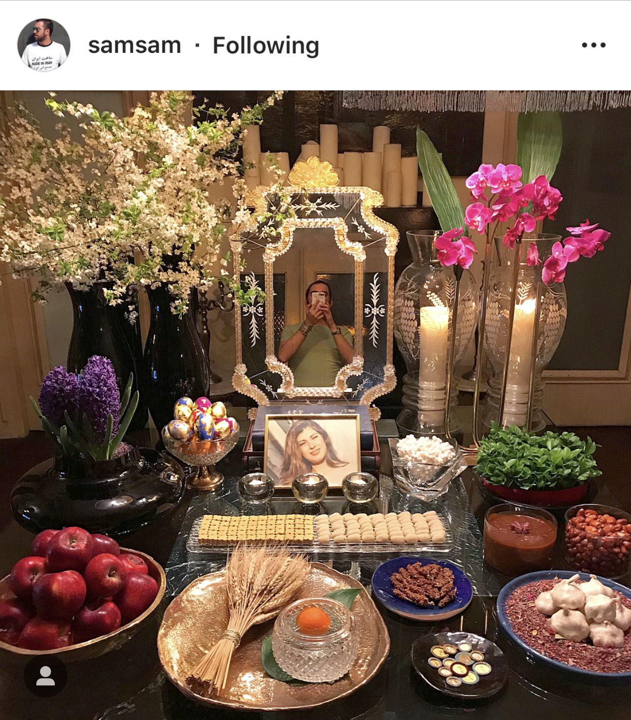 Haft Seen, Persian Wedding