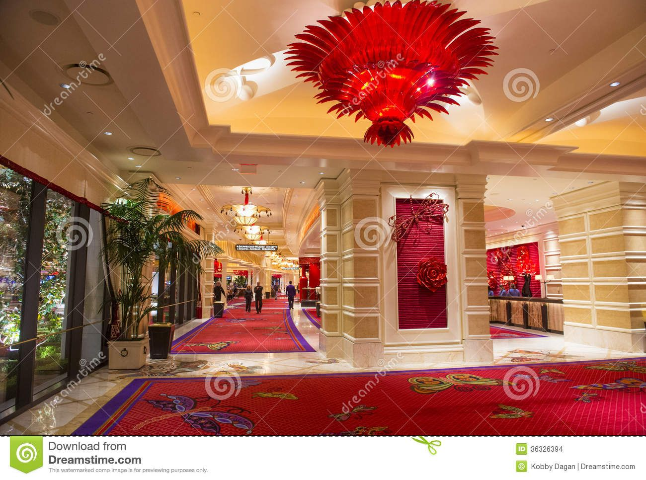 High Quality Las Vegas Wynn Hotel Nov Interior Casino November