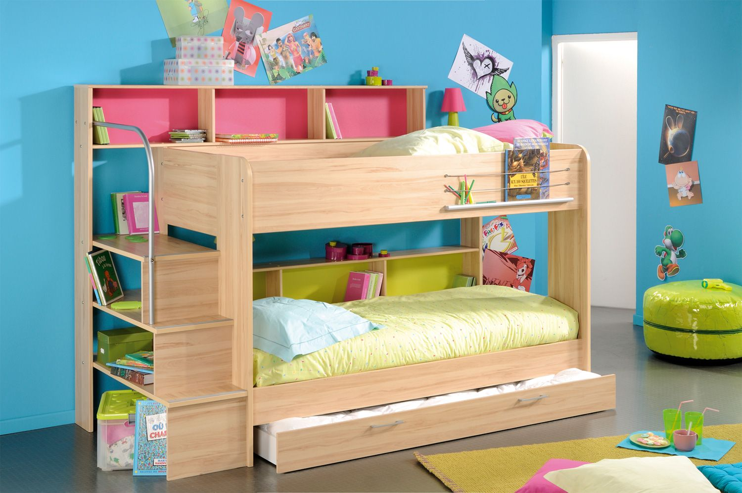 Kurt Bunk Bed Cool bunk beds, Bunk beds for sale, Kids