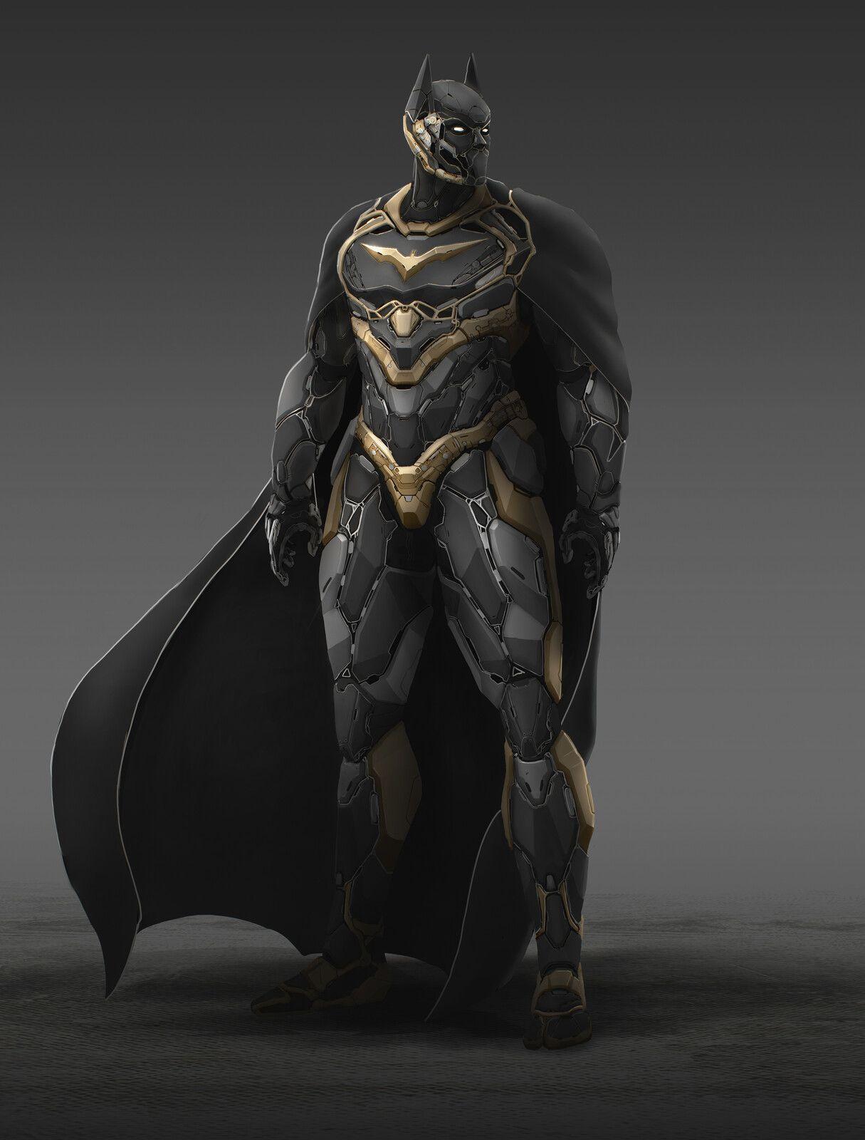 The Dark knight, Francis Lafleche on ArtStation at https ...