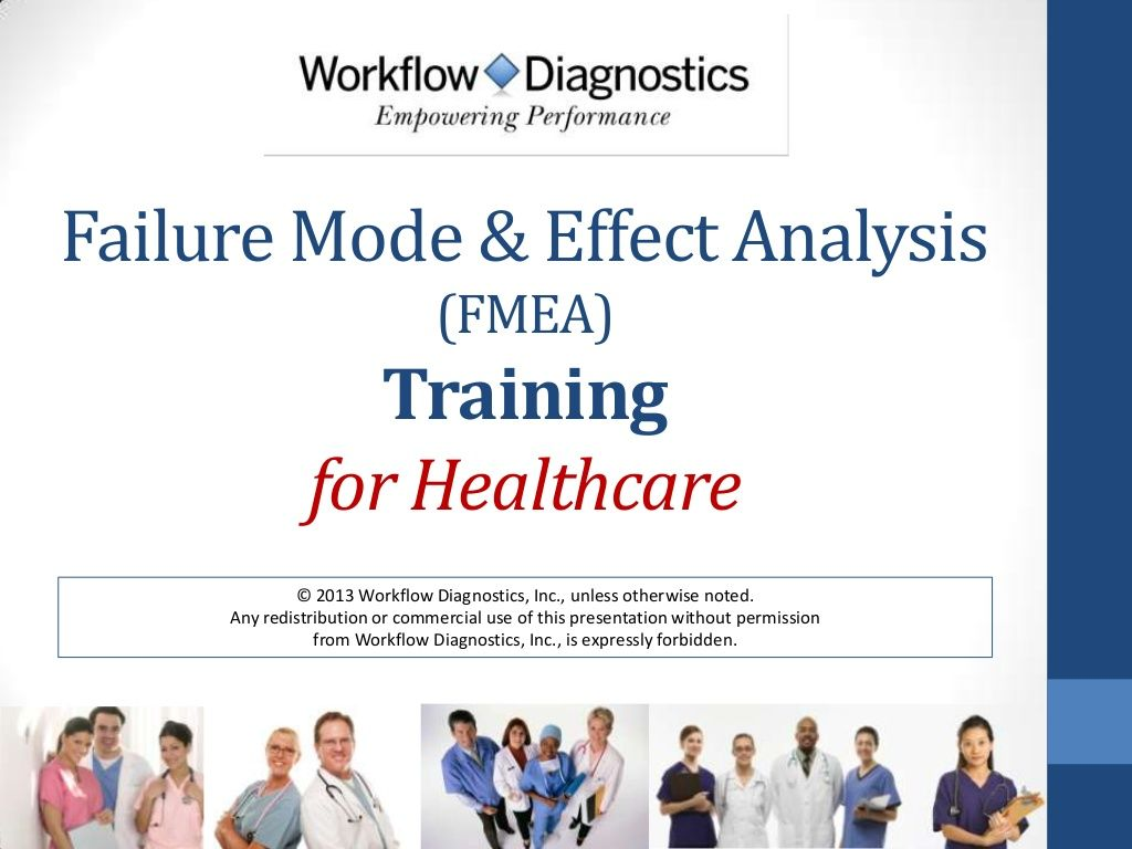 FMEA training for Healthcare Sample by Mark H. Davis via