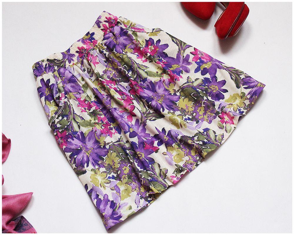 River Island Spodniczka Mini Kieszenie 38 40 42 7242299826 Allegro Pl Wiecej Niz Aukcje Floral Tie Floral River Island