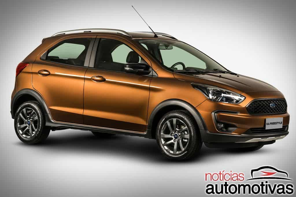 Autonews Detalhes Do Ford Ka Freestyle Aparecem Na India La Ele Sera Chamado