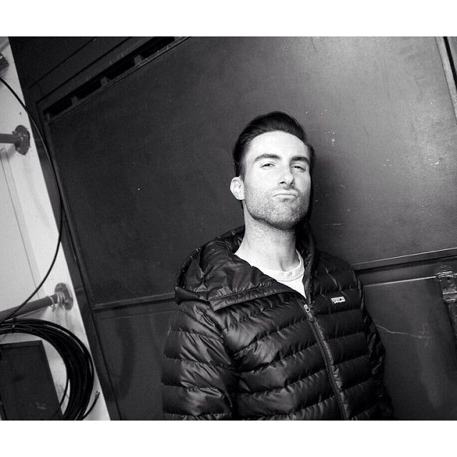 Adam Levine the bae throwing that duck face because he's my 7300th pin!!!