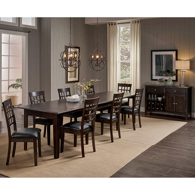 Alec 10 Piece Dining Set Dining Table Dimensions Dining Set Dining Room Sets