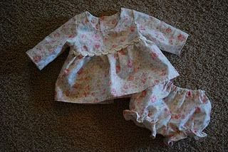Cute free pattern for doll clothes