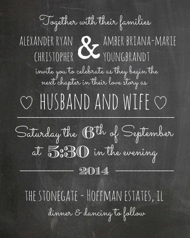 wedding invitations wording best photos | Invitation wording, Photo ...