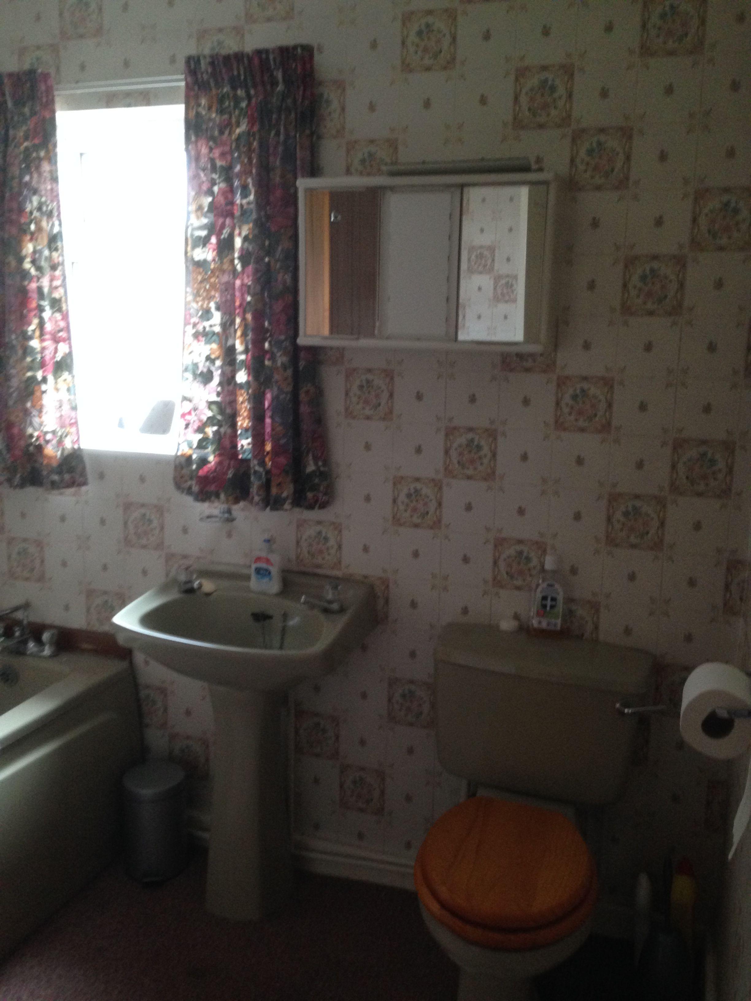 Avocado Bathroom Suite Before Renovation Avocado Bathroom