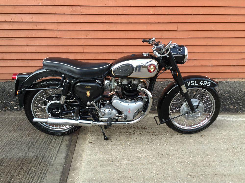 Very Rare 1959 Bsa A10 Golden Flash 650cc Motor Bike British Classic Classic Motorcycles Motorbikes Bsa Motorcycle