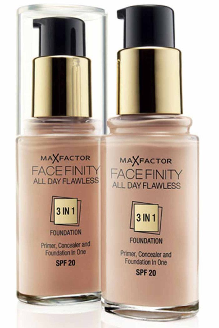 All In One Primer Concealer Foundation Maxfactor Makeup