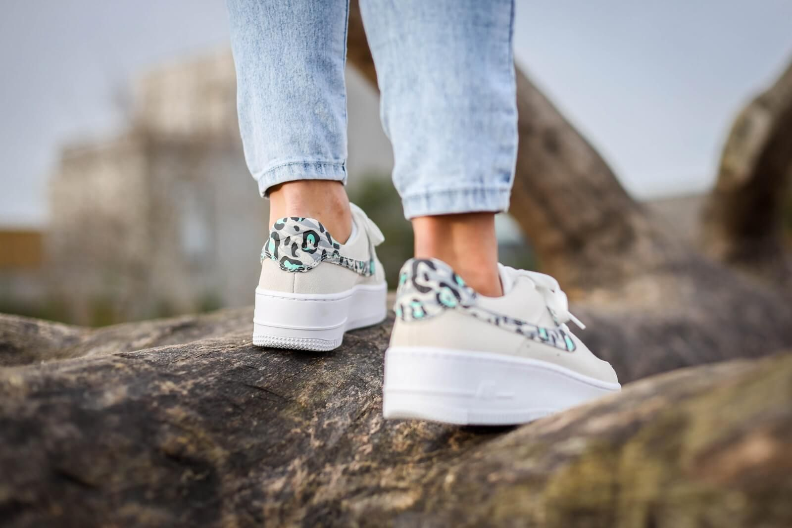 Nike Women's Air Force 1 Sage Low Leopard in 2020 | Nike ...