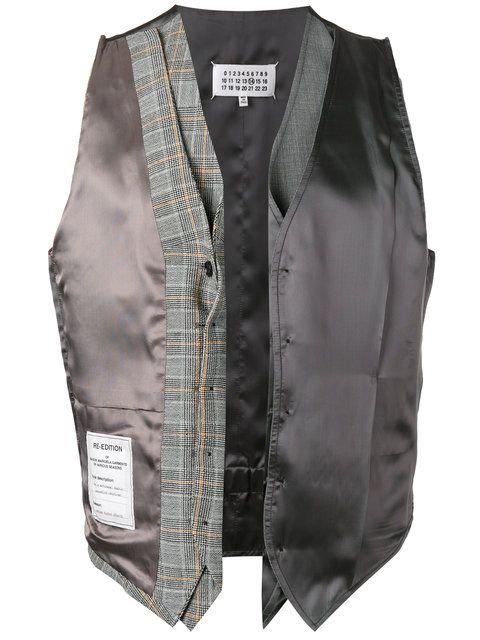 9ef95a6b4a5 MAISON MARTIN MARGIELA Re-edition deconstructed waistcoat ...