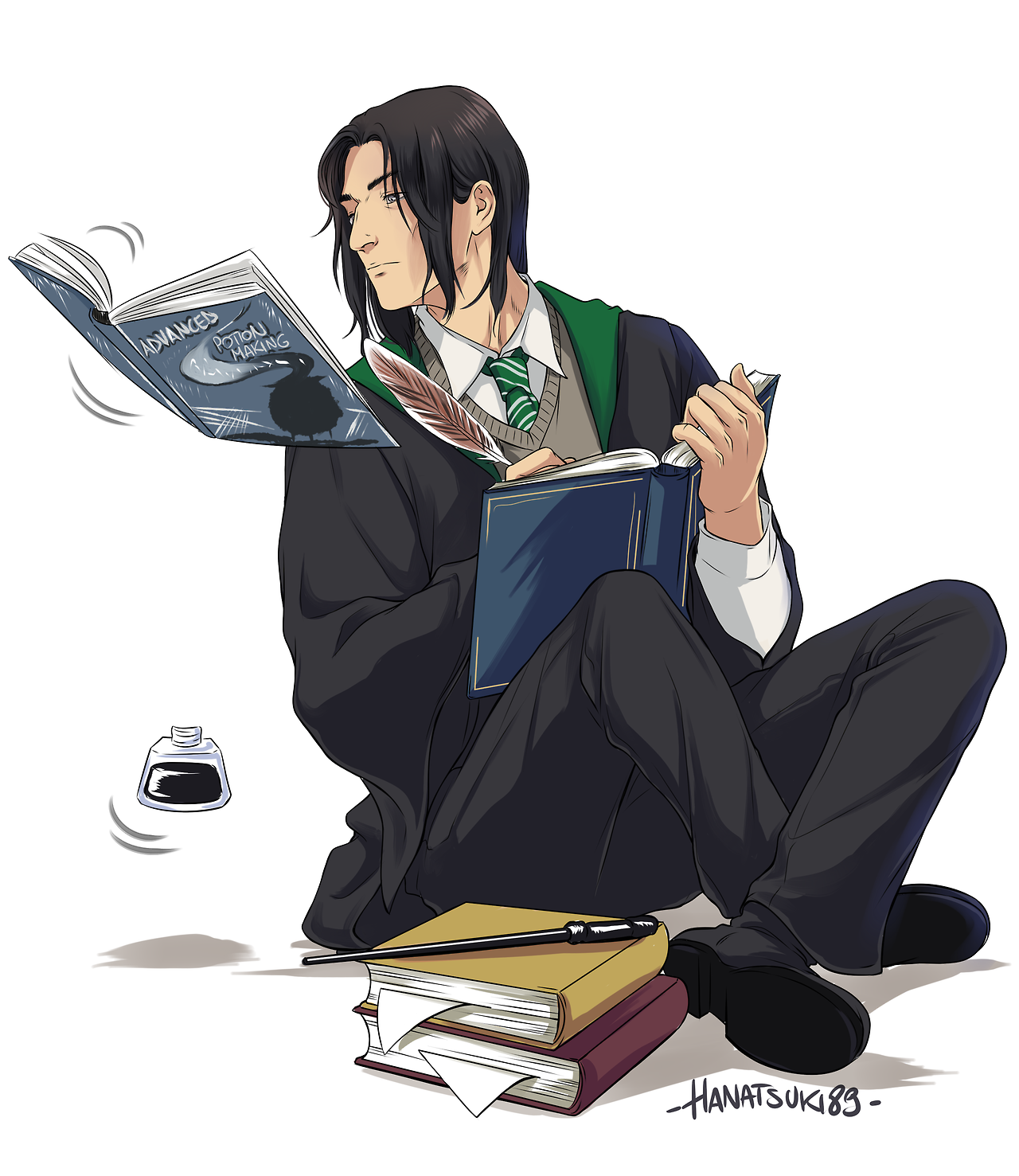 Severus Snape. This is strange... I'm not entirely sure
