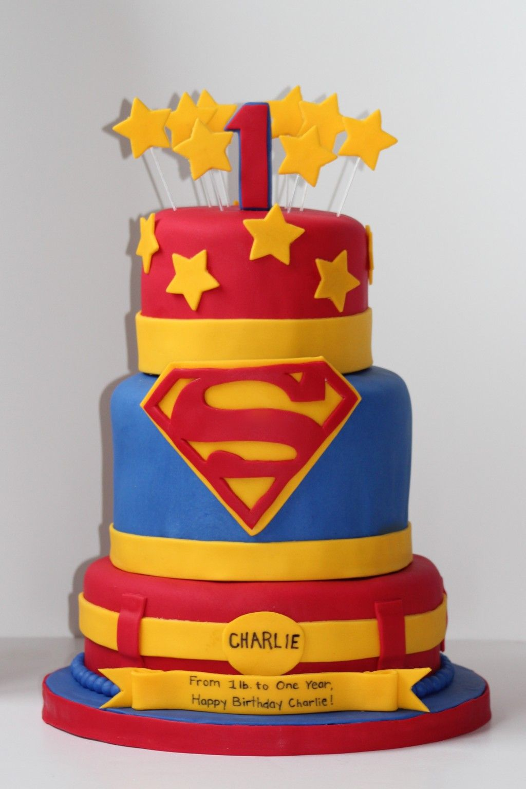 Superman Cake icing Smiles My Cakes Pinterest Superman cakes