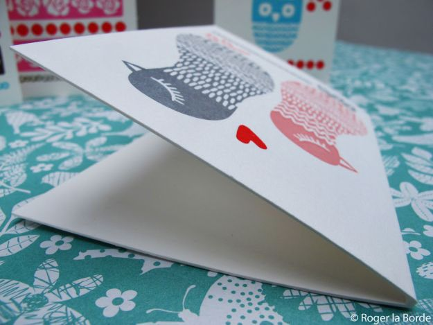 Roger la Borde blog: #Letterpress #scandi cards by Sudenmarja