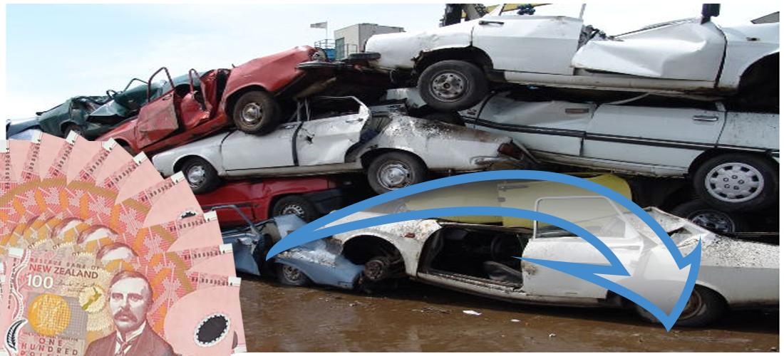 Home Car, Cash cars, Scrap car