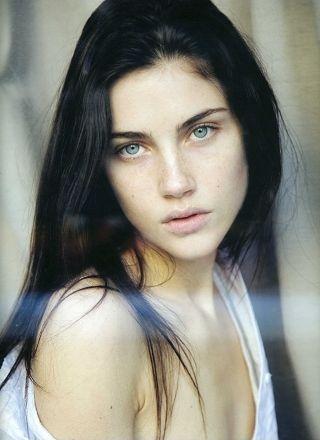 Anna Christine Speckhart Page 5 The Fashion Spot Black Hair Green Eyes Black Hair Blue Eyes Hair Pale Skin