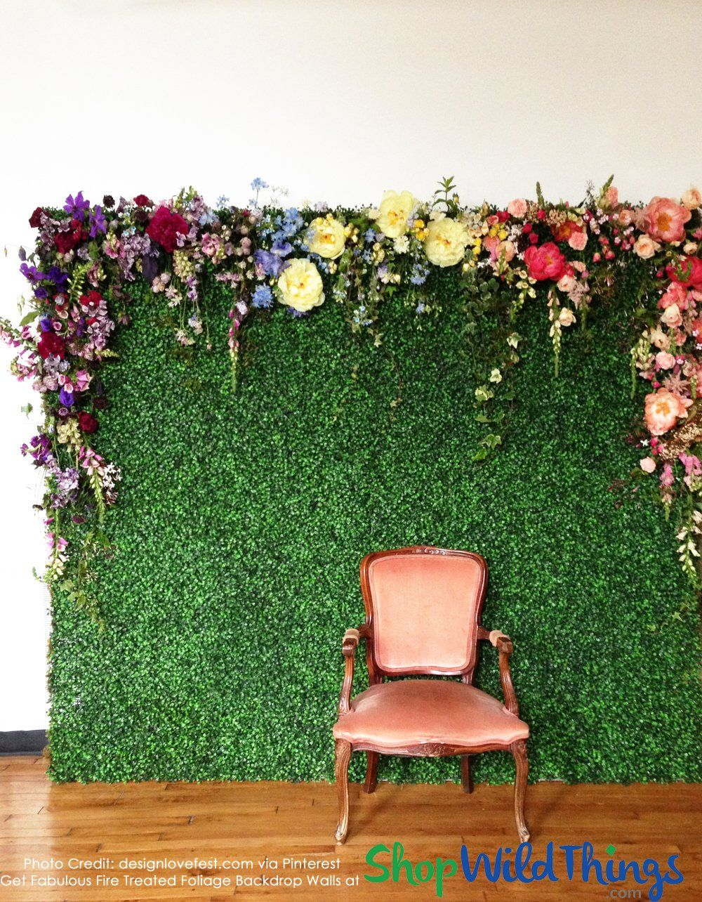 Artificial Greenery & Foliage Backdrops Backdrops for