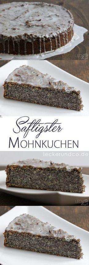 Mohnkuchen - so saftig wie noch nie | LECKER&Co | Foodblog aus Nürnberg