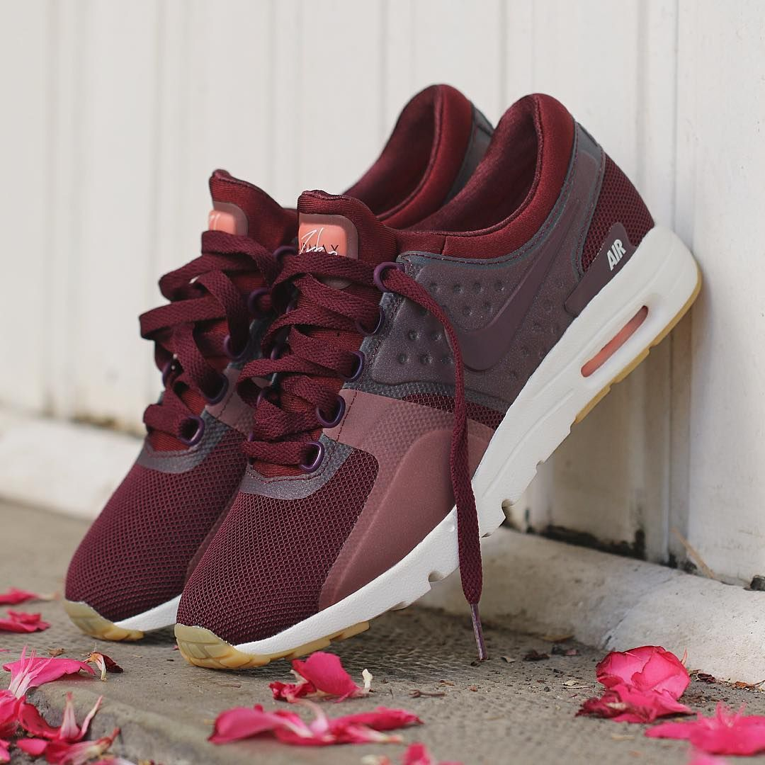 best value save up to 80% better real air max zero night maroon atomic rose femmes 6ea5a 3b52c