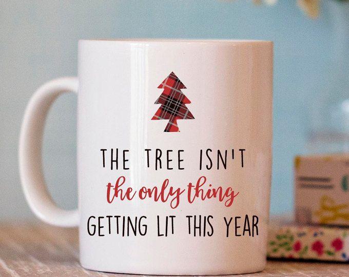 Funny Christmas Gift Part - 37: Christmas Mug - Funny Christmas Mug - Christmas Gift - Hostess Gift - Funny  Coffee Mug