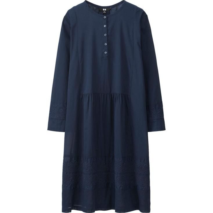 34 women embroidery dress from uniqlo but out of stock
