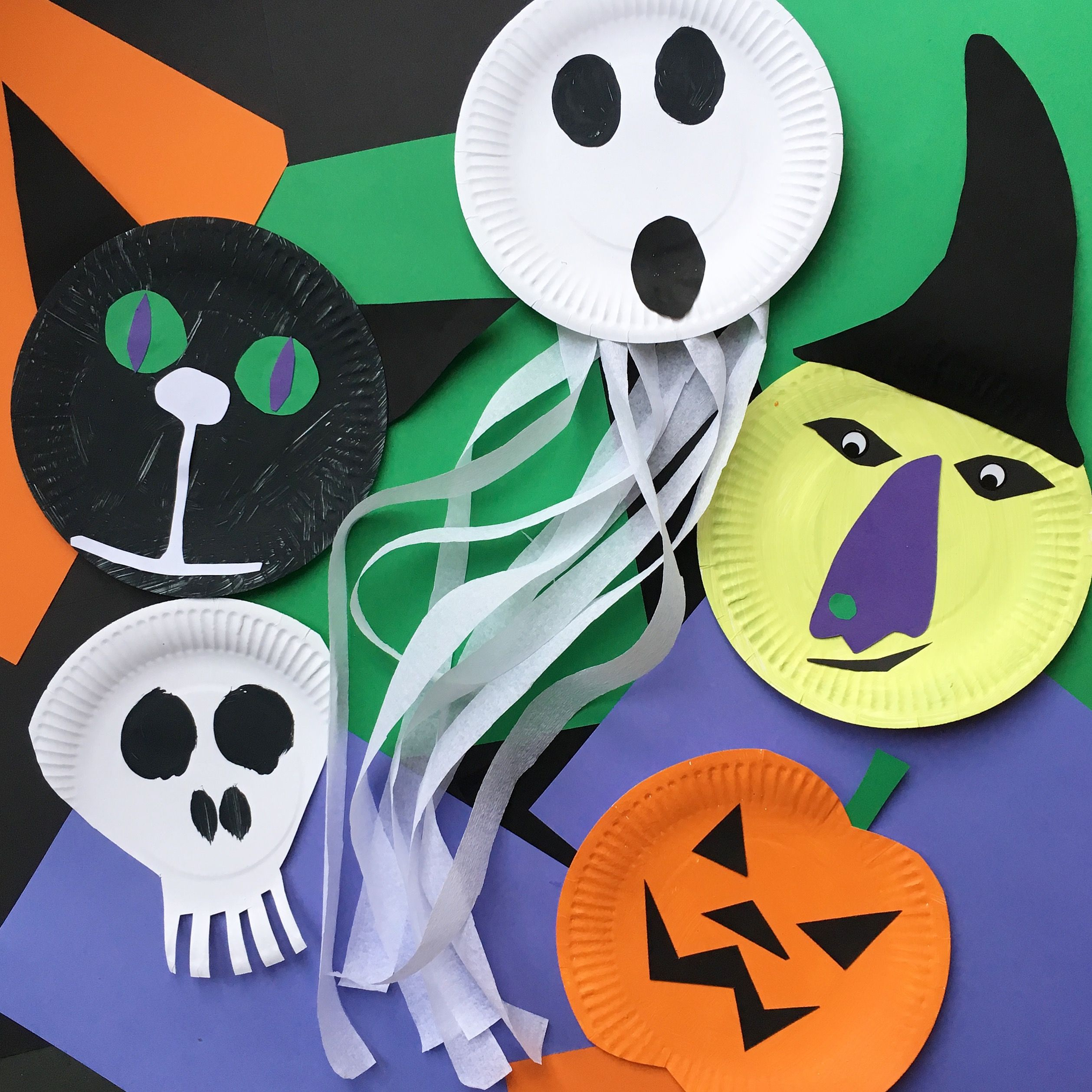 20++ Easy halloween crafts with paper information