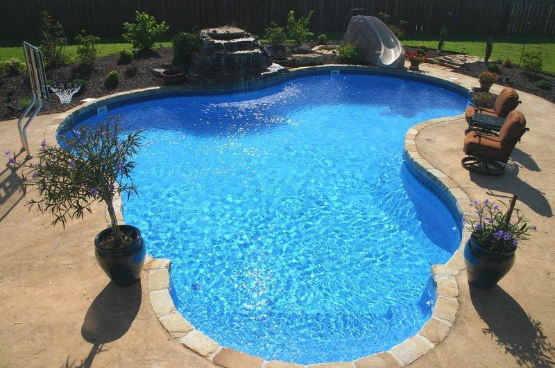 IMAGES OF VINYL POOLS | Vinyl lined pools, Arkansas, Oklahoma ...