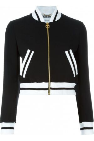 62d39357bc51bd Women s jackets - Moschino Cropped bomber jacket