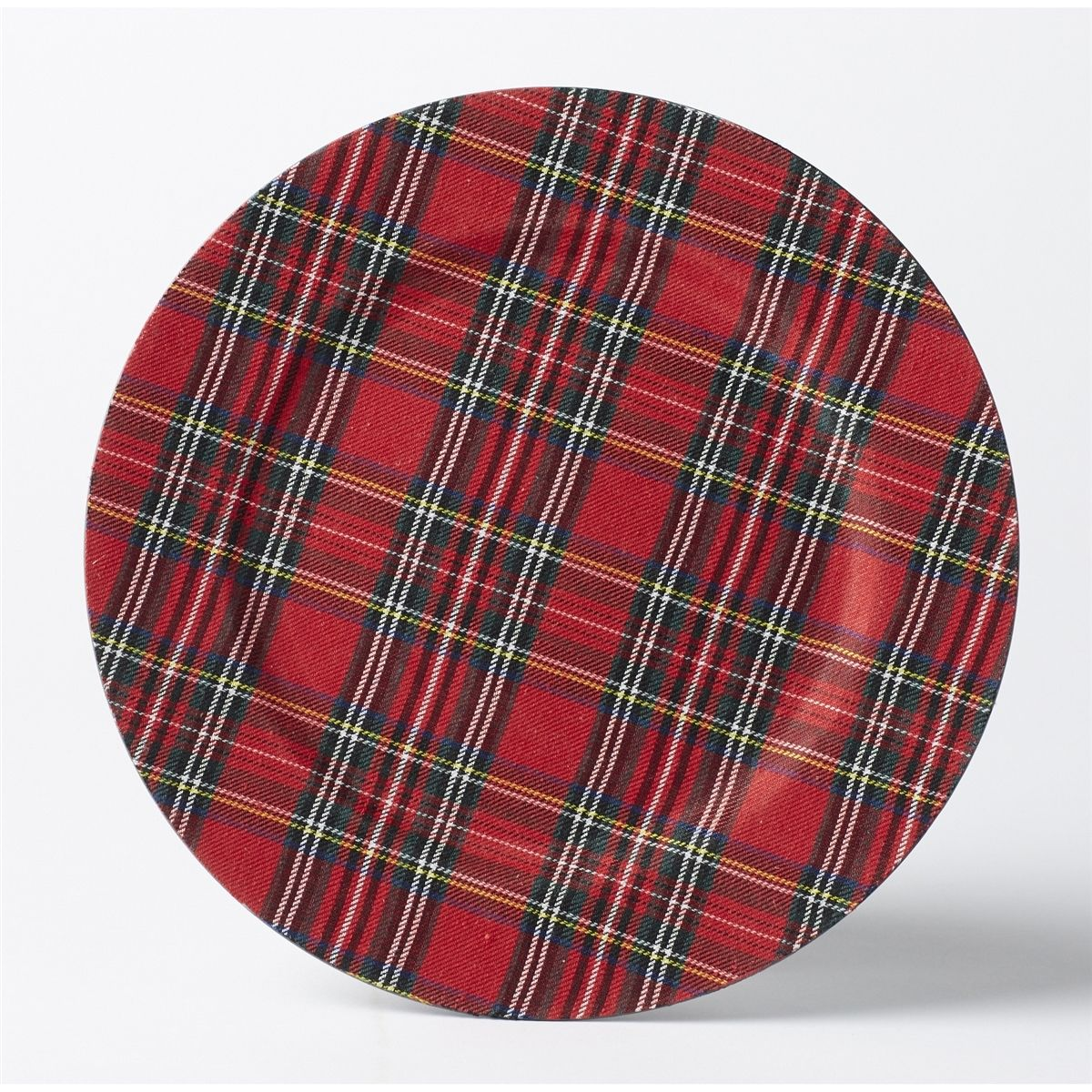 Tartan Plate Chargers - Set Of 4 | Tablescapes | Plaid Decor