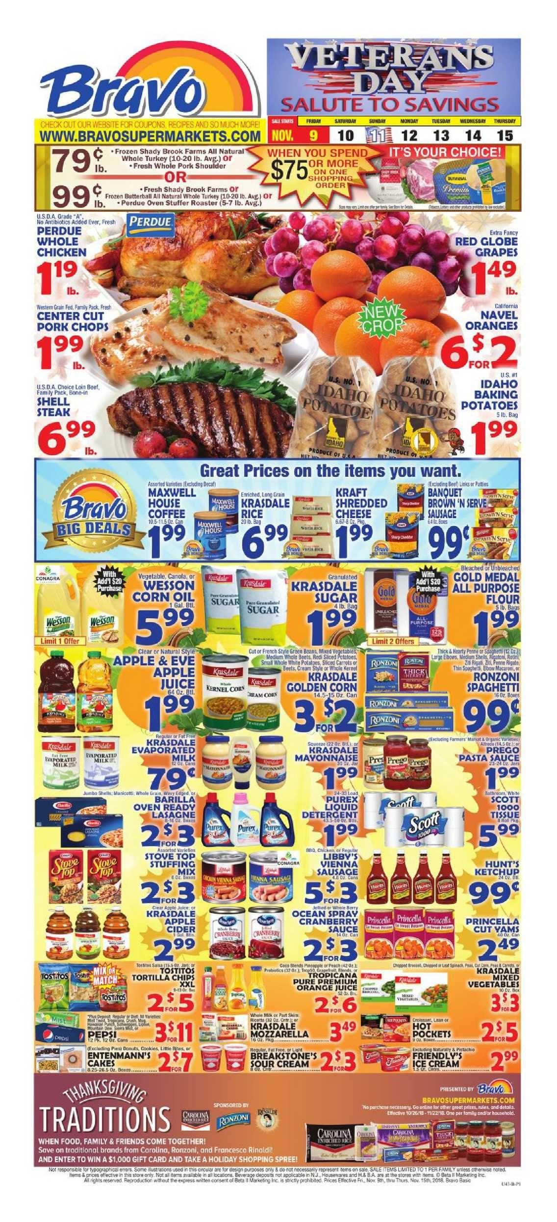 Bravo supermarkets weekly ad flyer july 4 10 2019