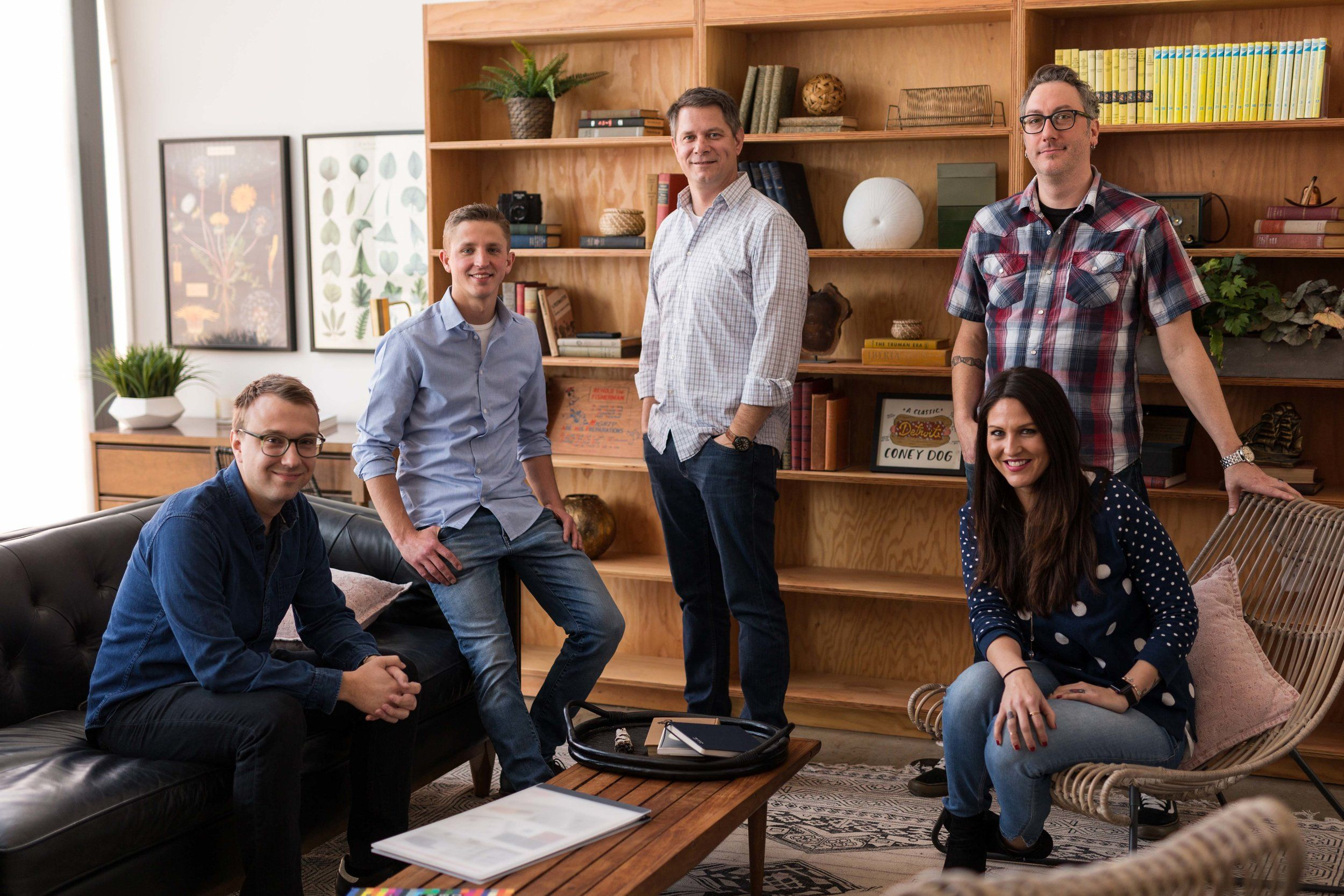 Corporate Staff Team Photo Of Drive Creative Agency Industrial