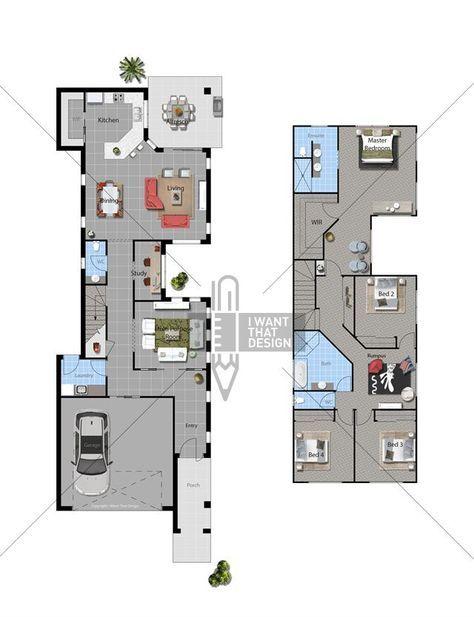 Guernville 2014 Floor Plan Architectural Floor Plans Narrow House Plans Modern House Plans