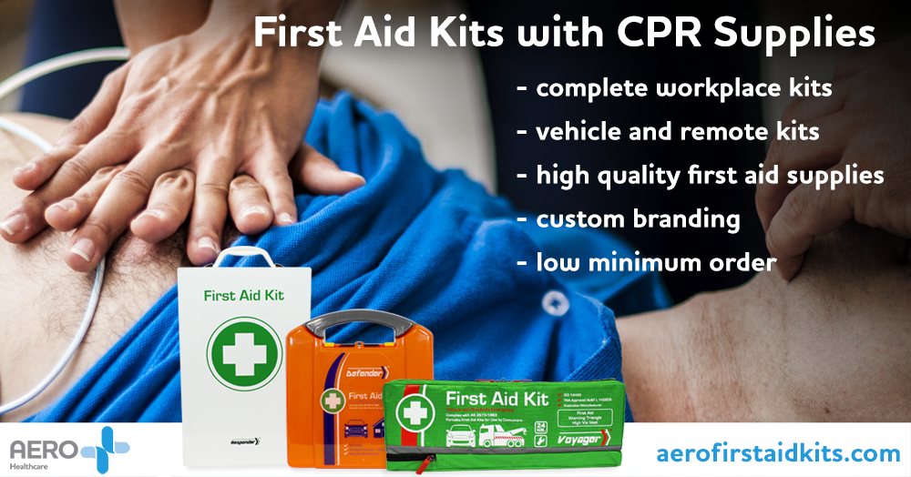 CPR Supplies Wholesale First Aid Kits Aero Healthcare