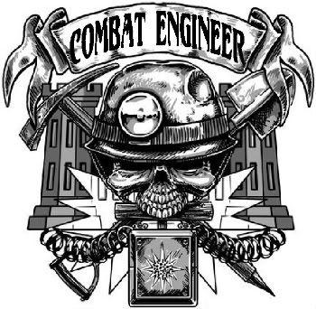 Combat engineer logo was an army combat engineer got for Combat engineer tattoo