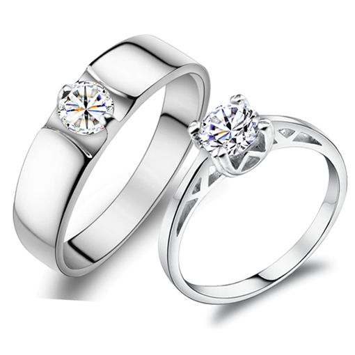 Gullei Trustmart Personalized 925 sterling silver wedding couple