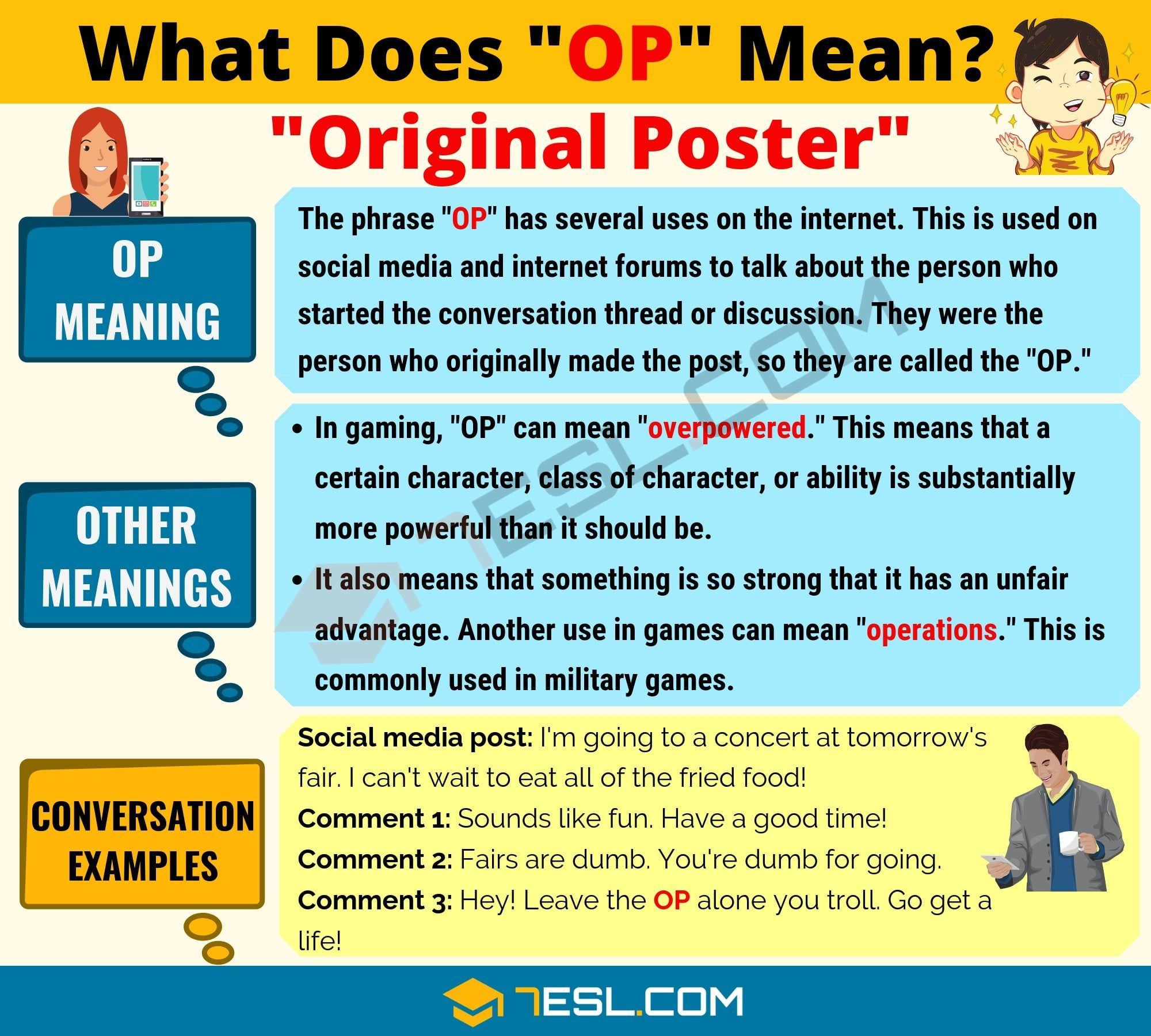 OP Meaning: What Does OP Mean? Interesting Text