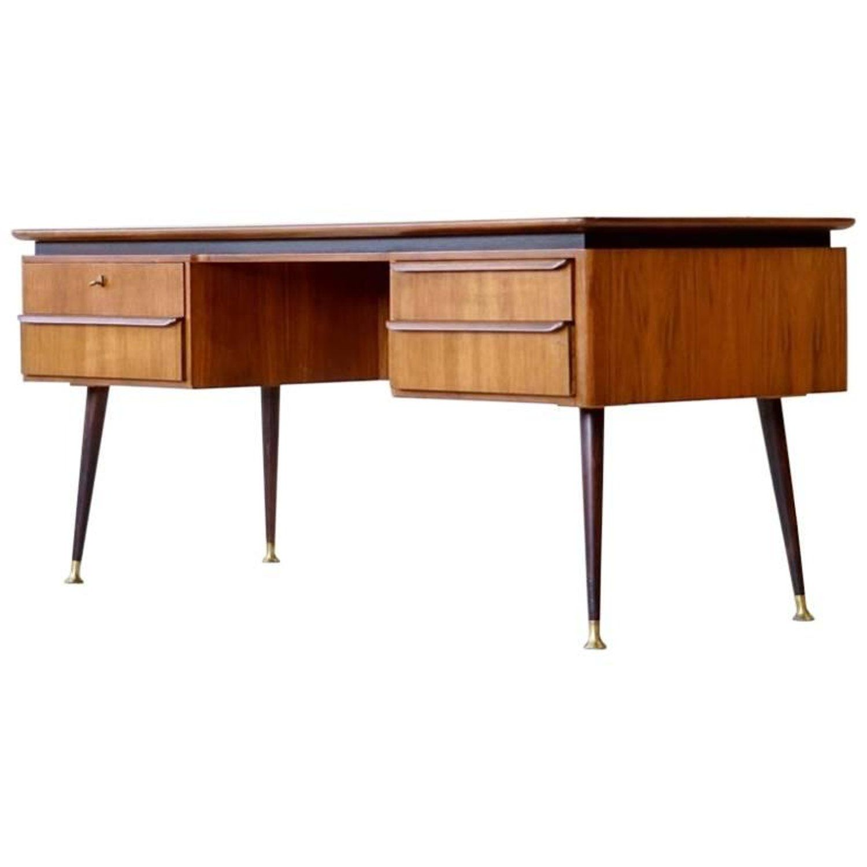 Exclusive Free Standing Desk By Erwin Behr Mid Century Modern