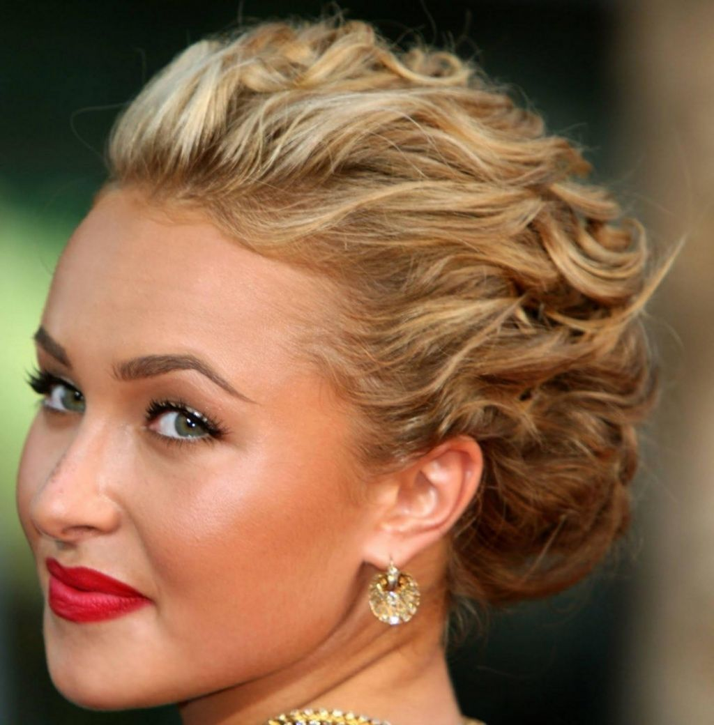 Short Hairstyles Easy Updo For Hair Prom Updos