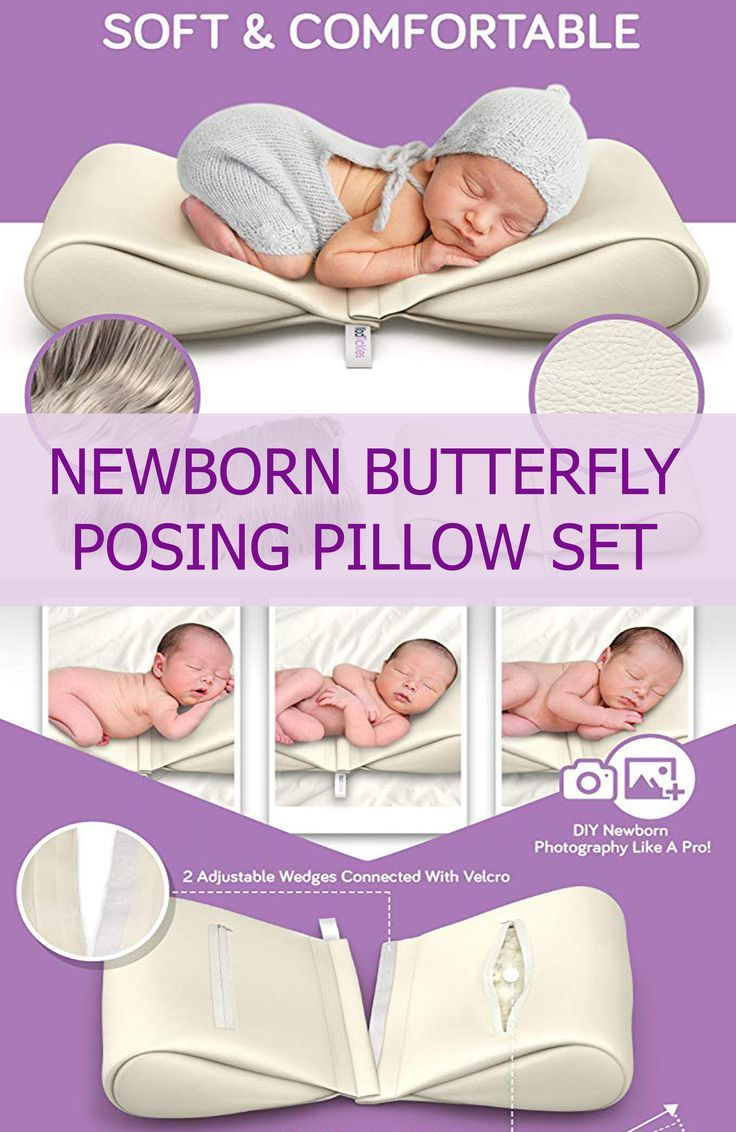 Raindrop Poser PA Baby Newborn Butterfly Posing Pillow Photography Photo Prop