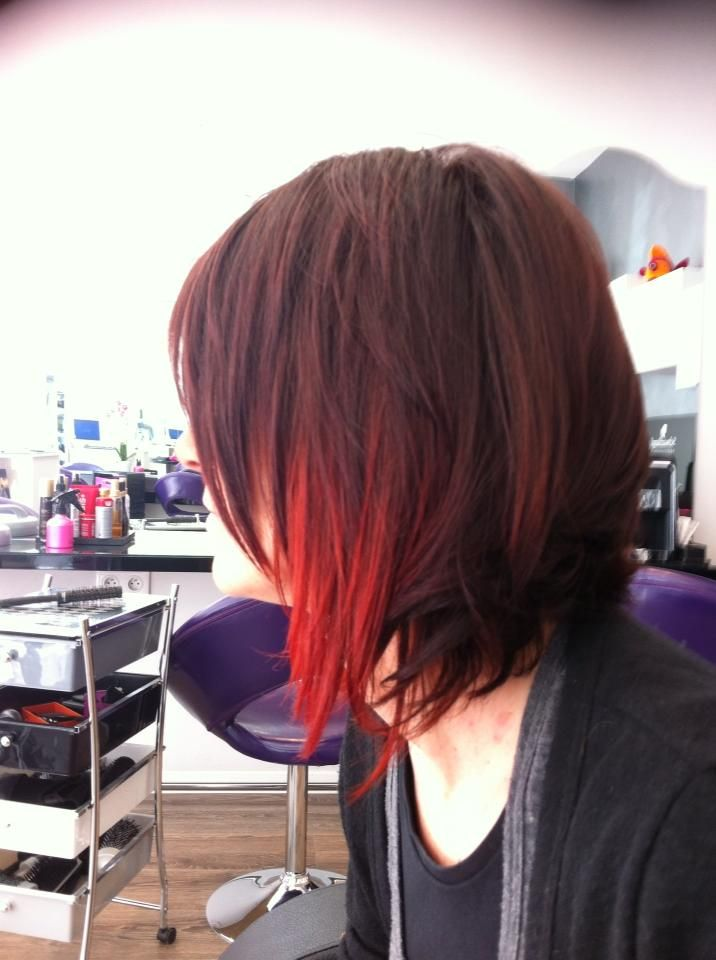 Tie and dye rouge cheveux pinterest cheveux for Tie and dye prix salon