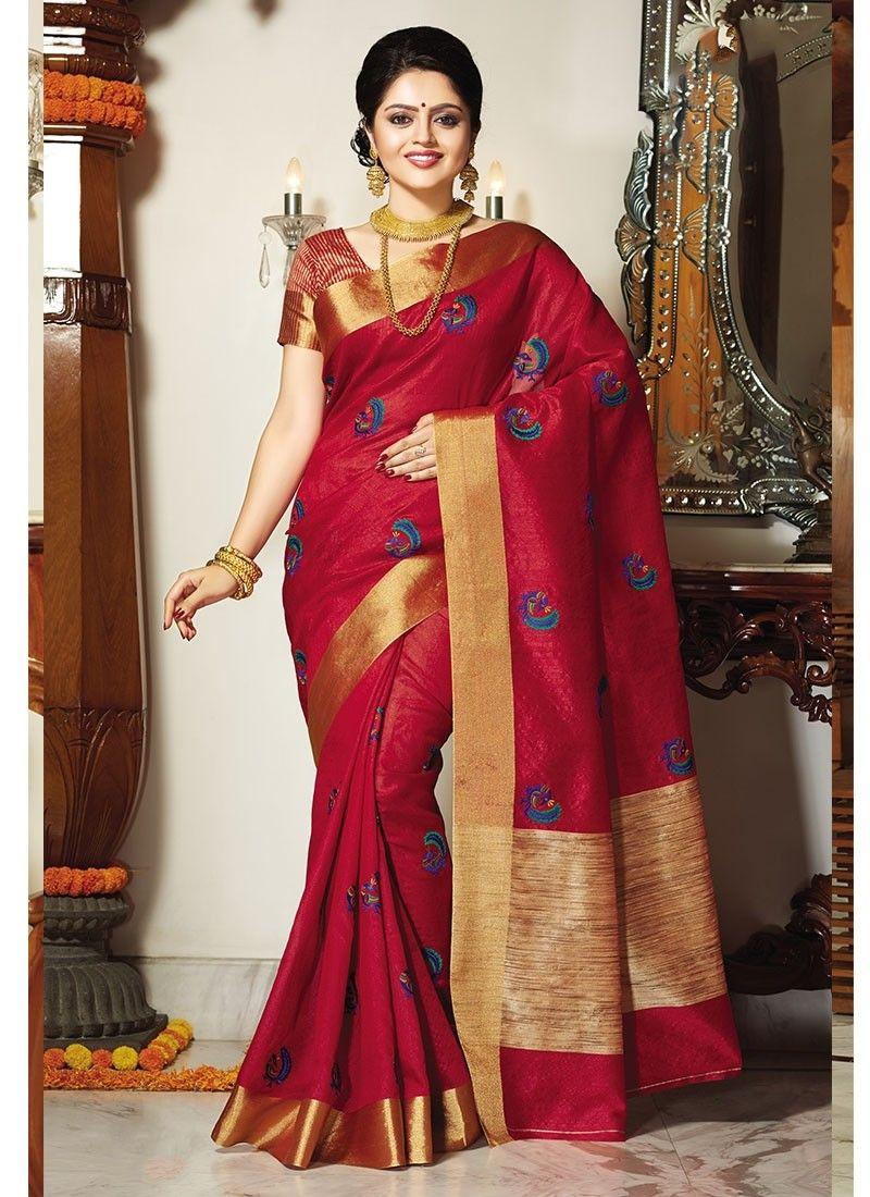 38f7e8e248 Pink Handloom Tussar Silk Fancy Silk Saree | Royal blue | Tussar ...